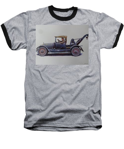 Mystery Wrecker 1930. Baseball T-Shirt by Mike  Jeffries