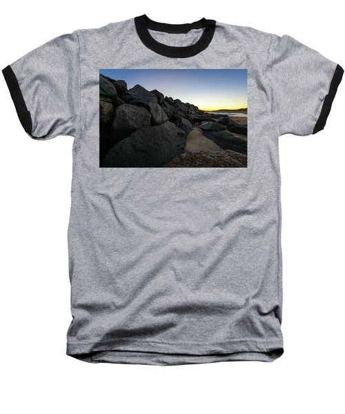 Mystic Beach Baseball T-Shirt