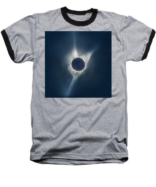 Mystic Eclipse  Baseball T-Shirt