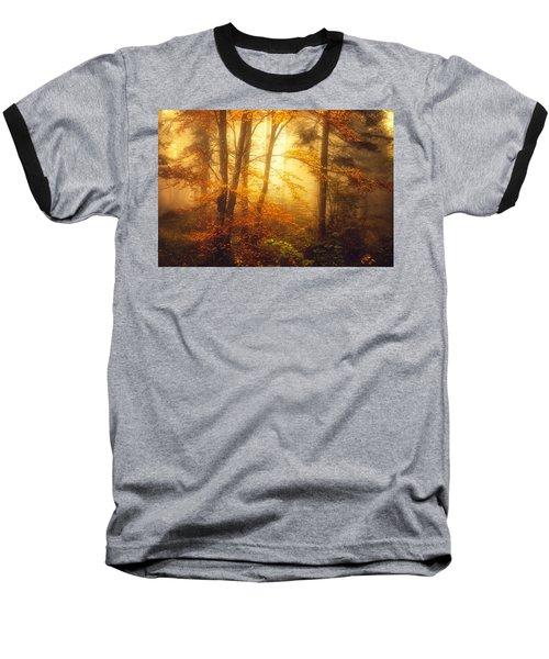 Mystic Fog Baseball T-Shirt