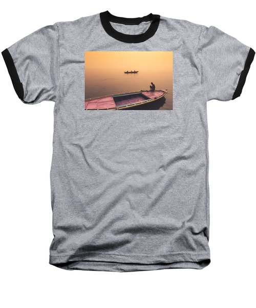 Mystic Ganges Baseball T-Shirt