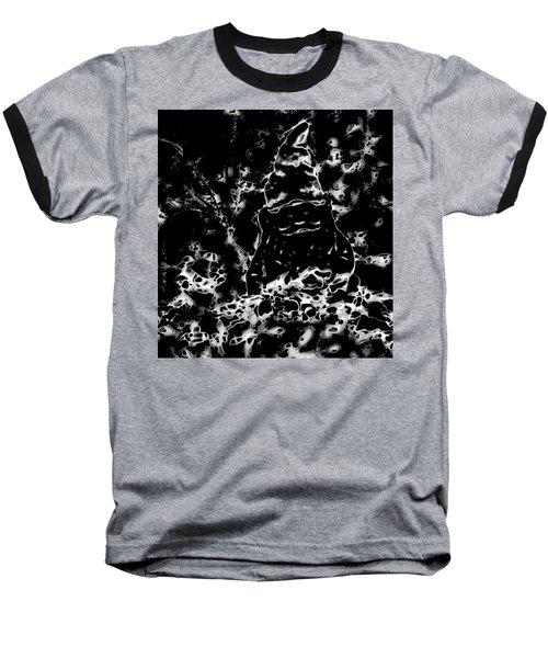 Mystic Garden Gnome Baseball T-Shirt by Gina O'Brien