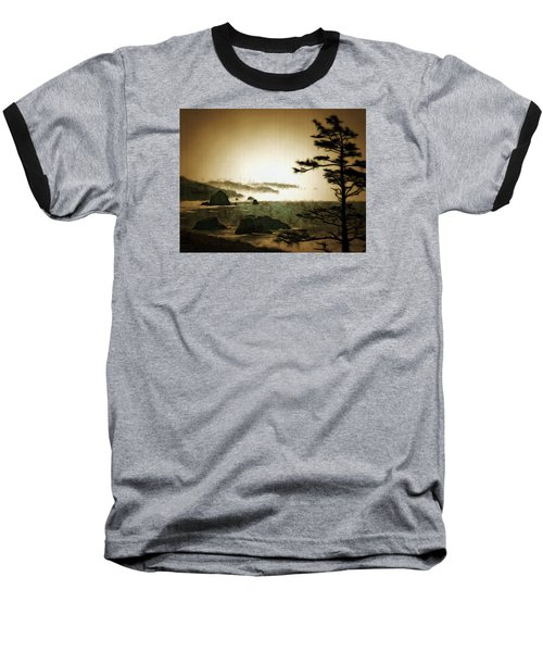 Mystic Landscapes Baseball T-Shirt by Mario Carini