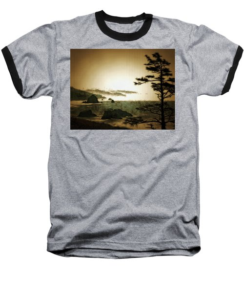 Mystic Landscapes Baseball T-Shirt