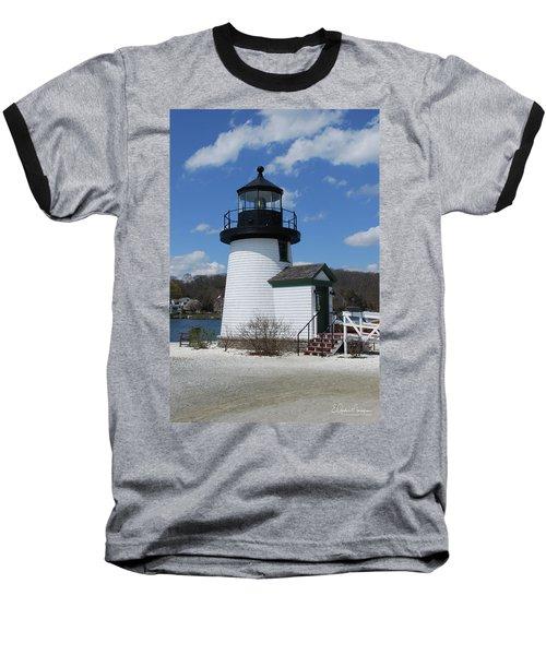 Mystic Lighthouse Baseball T-Shirt