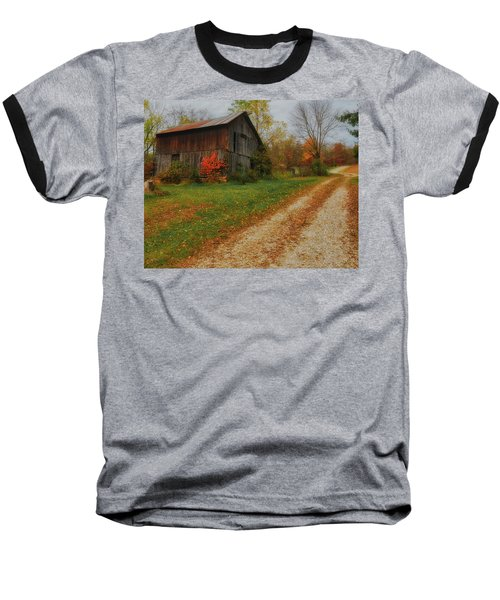 Mystical Country Lane  Baseball T-Shirt