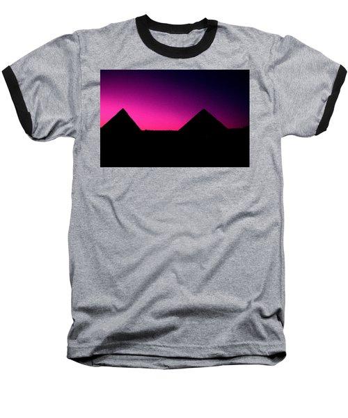 The Pyramids At Sundown Baseball T-Shirt