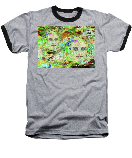Mystical Eyes Baseball T-Shirt