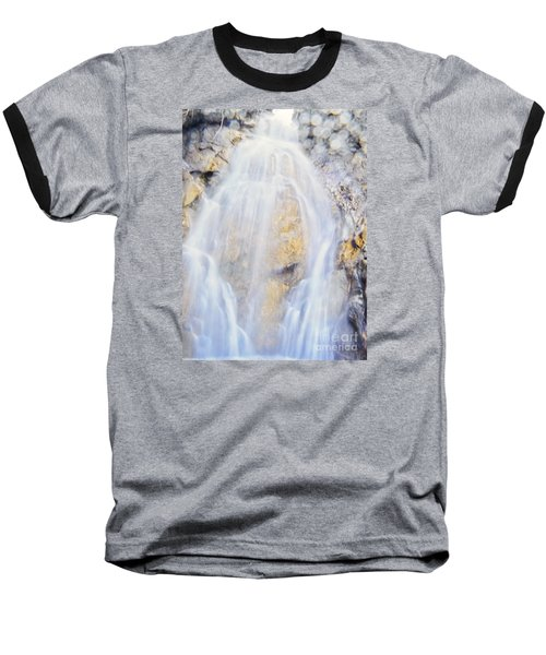Baseball T-Shirt featuring the photograph Mystical Falls by Janie Johnson