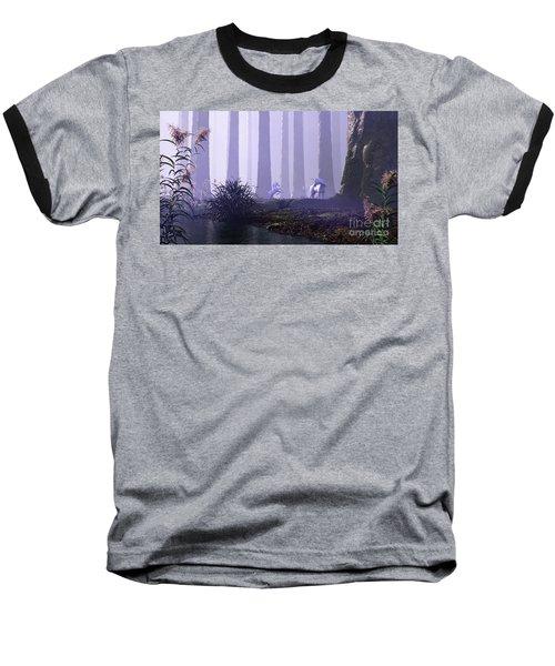 Mystical Forest Baseball T-Shirt