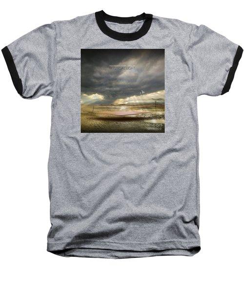 Baseball T-Shirt featuring the digital art Mystical Light by Franziskus Pfleghart