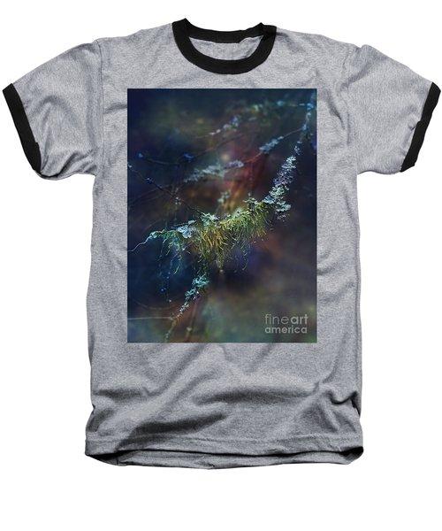 Mystical Moss - Series 2/2 Baseball T-Shirt by Agnieszka Mlicka