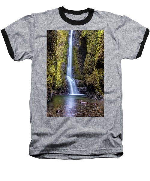 Mystical Oneonta Falls Baseball T-Shirt by Pierre Leclerc Photography