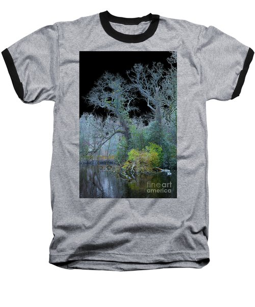 Mystical Wintertree Baseball T-Shirt