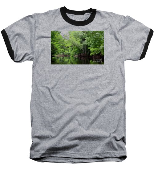 Mystical Withlacoochee River Baseball T-Shirt