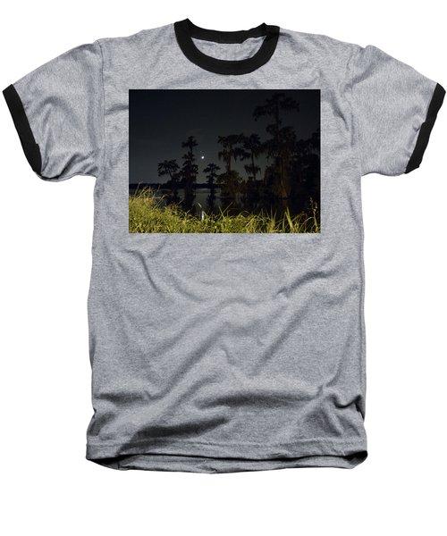 Mystique Of A Cajun Night Baseball T-Shirt by Kimo Fernandez