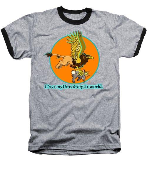 Mythhunter Baseball T-Shirt