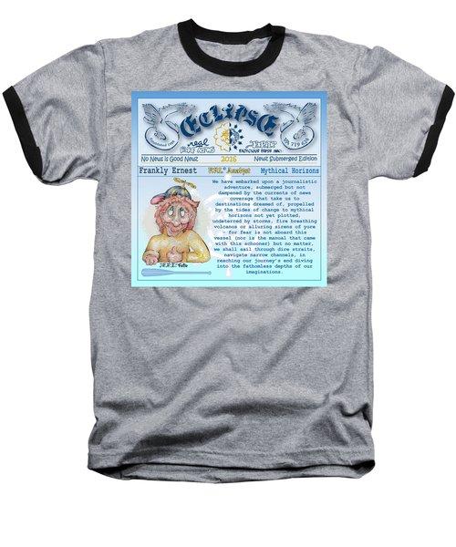 Real Fake News Analyst Baseball T-Shirt