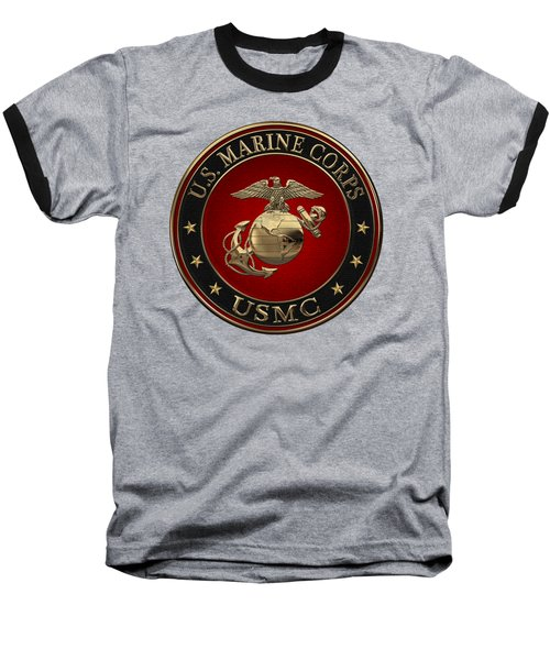 N C O And Enlisted E G A Special Edition Over Black Velvet Baseball T-Shirt