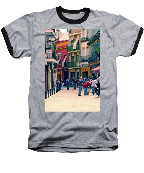 Baseball T-Shirt featuring the photograph Triana On A Sunday Afternoon 1 by Mary Machare