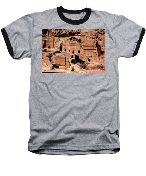 Baseball T-Shirt featuring the photograph Nabataeans' City by Mae Wertz