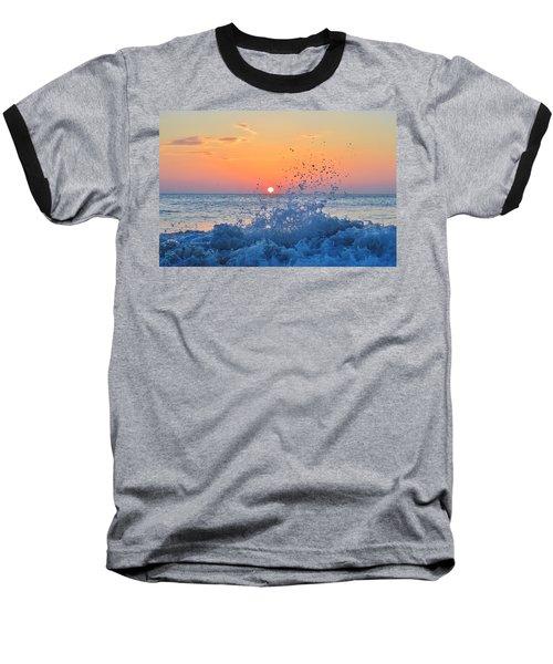 Nags Head Sunrise 7/15/16 Baseball T-Shirt