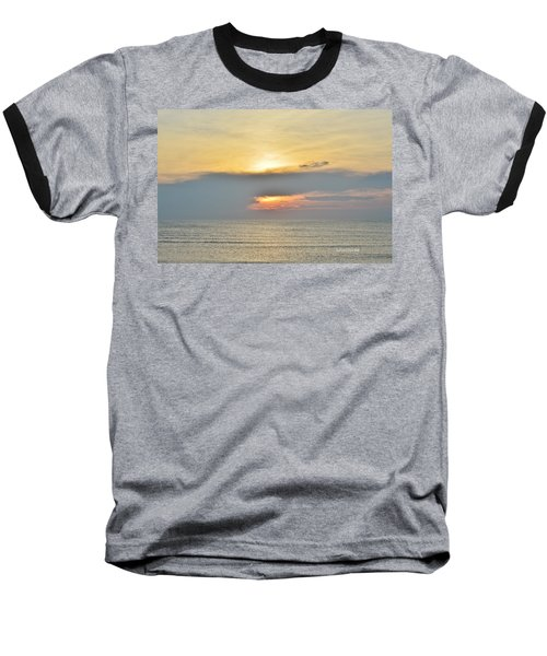 Nags Head Sunrise 7/24/16 Baseball T-Shirt