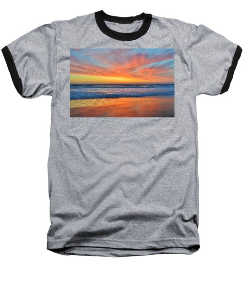 Nags Head Sunrise  Baseball T-Shirt