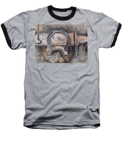 Nail It Up Baseball T-Shirt