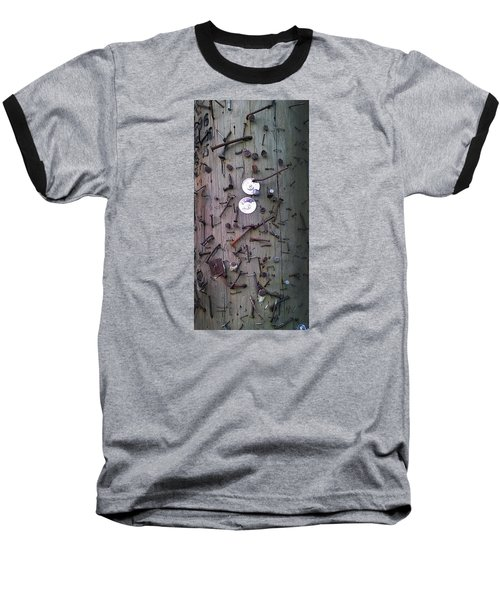 Baseball T-Shirt featuring the photograph Nailed It by Steve Sperry