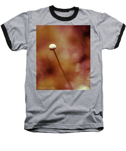 Naked Dandelion Baseball T-Shirt