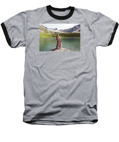 Naked In Alaska Baseball T-Shirt