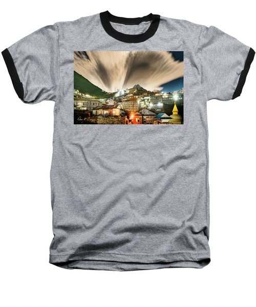 Namche Night Baseball T-Shirt