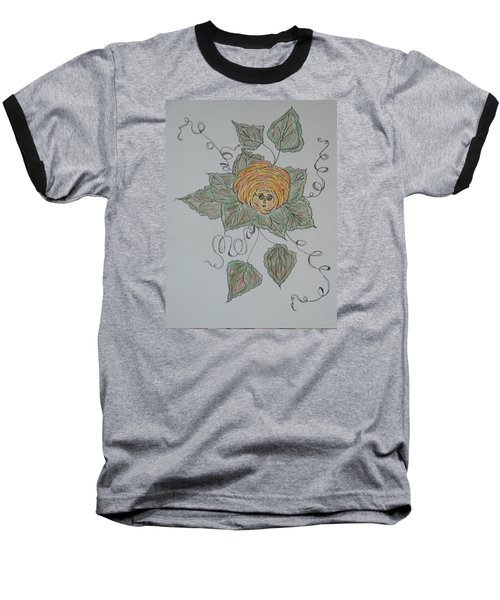 Baseball T-Shirt featuring the drawing Nana Rose Is Here by Sharyn Winters