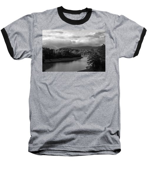 Nantahala River Blue Ridge Mountains Baseball T-Shirt