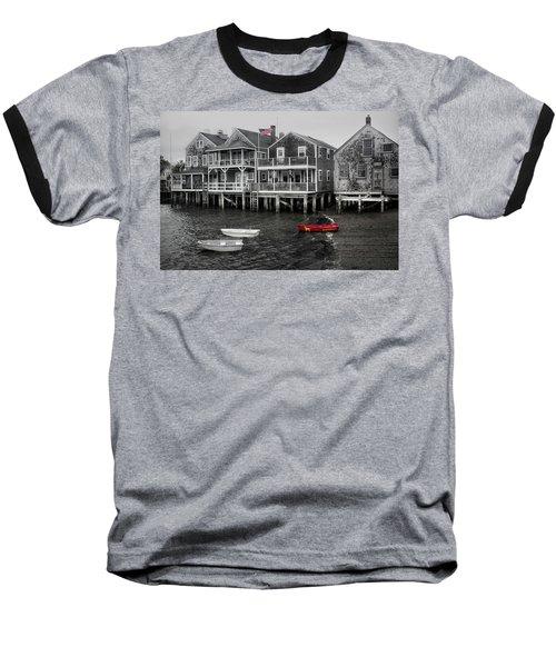 Nantucket In Bw Series 6139 Baseball T-Shirt
