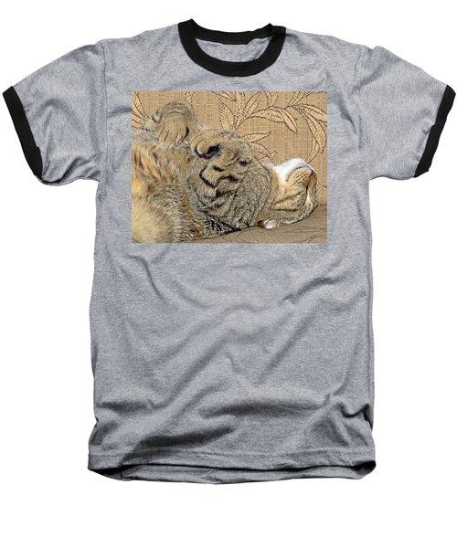 Nap Time Again Baseball T-Shirt