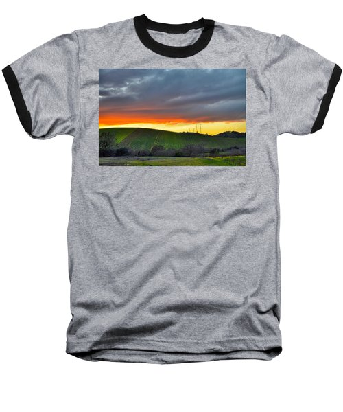 Napa Sunrise Baseball T-Shirt