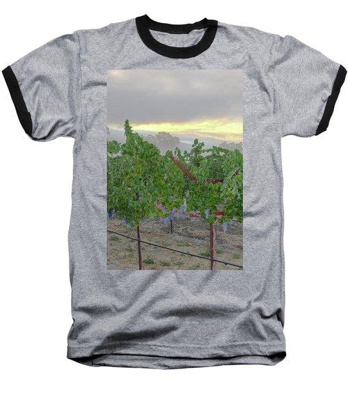 Napa Valley At Dawn Baseball T-Shirt