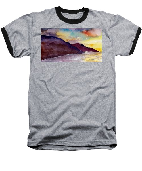 Napali Coast Kauai Hawaii Baseball T-Shirt