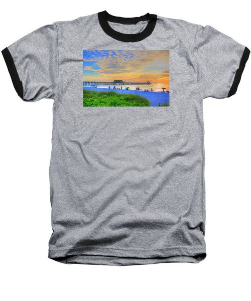 Naples Beach Baseball T-Shirt
