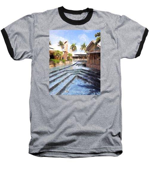 Naples Falls Shopping  Baseball T-Shirt