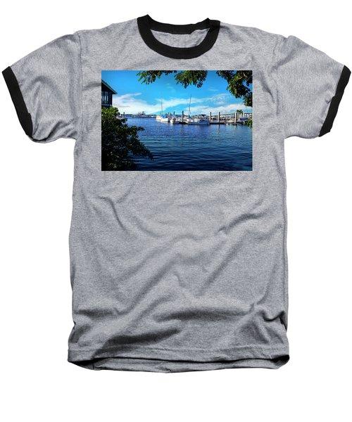 Naples Harbor Series 4054 Baseball T-Shirt