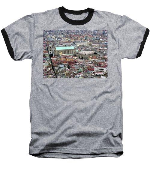 Naples Italy Baseball T-Shirt