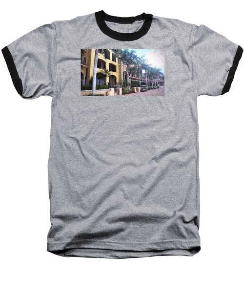 Naples On The Waterfront Baseball T-Shirt