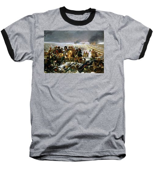 Baseball T-Shirt featuring the painting Napoleon At Eylau  by Antoine Jean Gros
