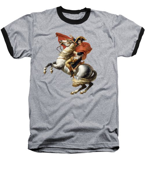 Napoleon Bonaparte On Horseback Baseball T-Shirt by War Is Hell Store