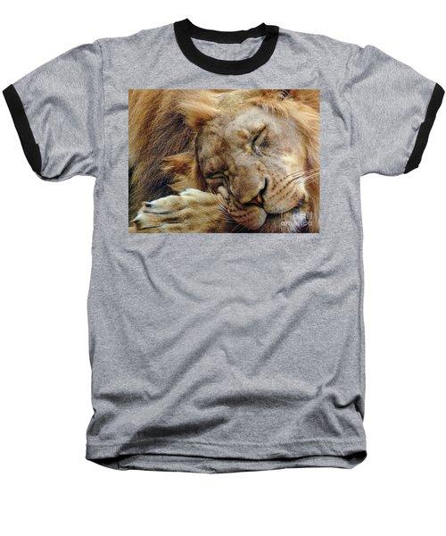 Napping Baseball T-Shirt