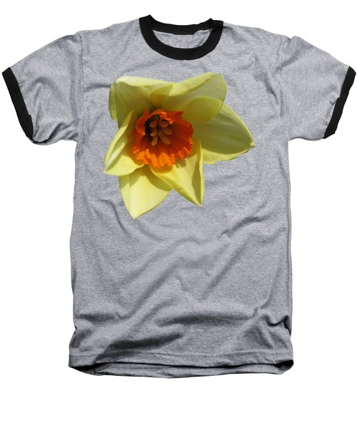 Narcissus 2 Baseball T-Shirt by Vesna Martinjak