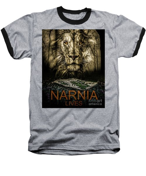 Narnia Lives Baseball T-Shirt